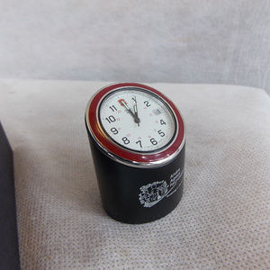 Victorinox SwissArmy Original Desk Clock Red Bezel